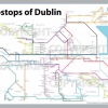 The metro map of Dublin pubs