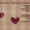 9 ways to spend Valentines weekend for couples and singles