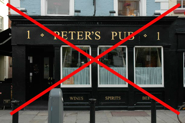 Peters Pub.