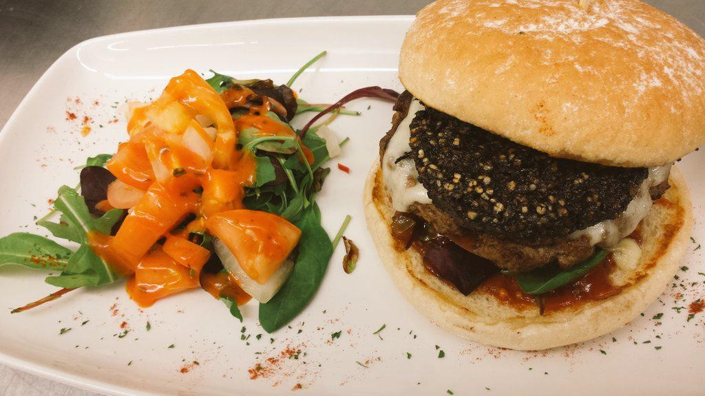 The Clonakilty pudding burger