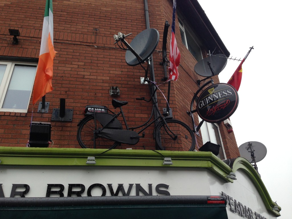 Peadar Brownes on Clanbrassil street. Formerly Kate's.