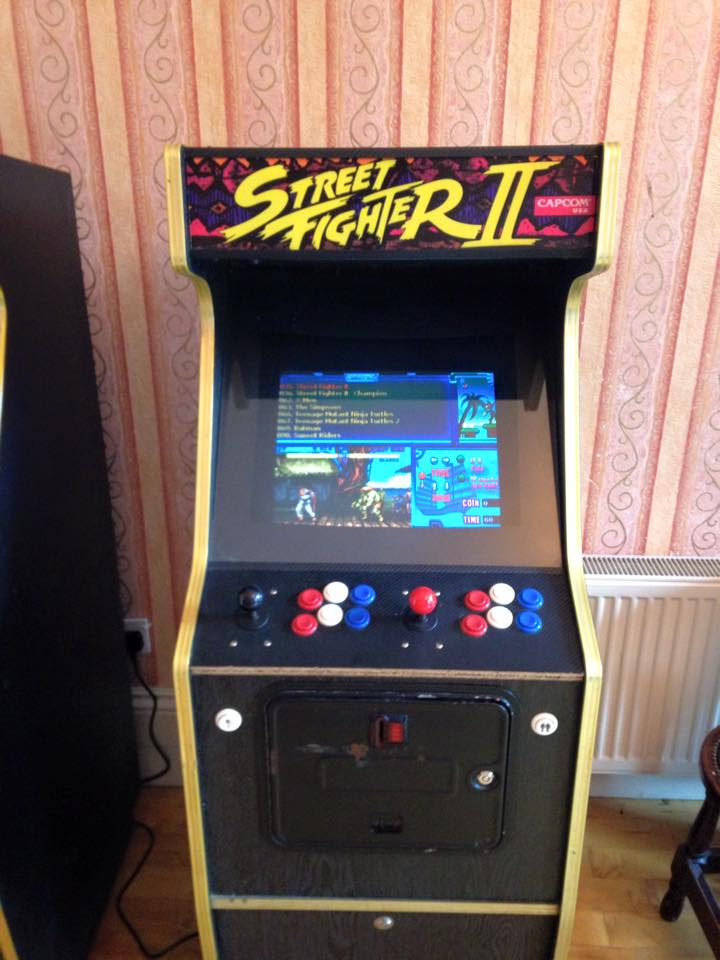 Street Fighter game in The Square ball. From their facebook page.