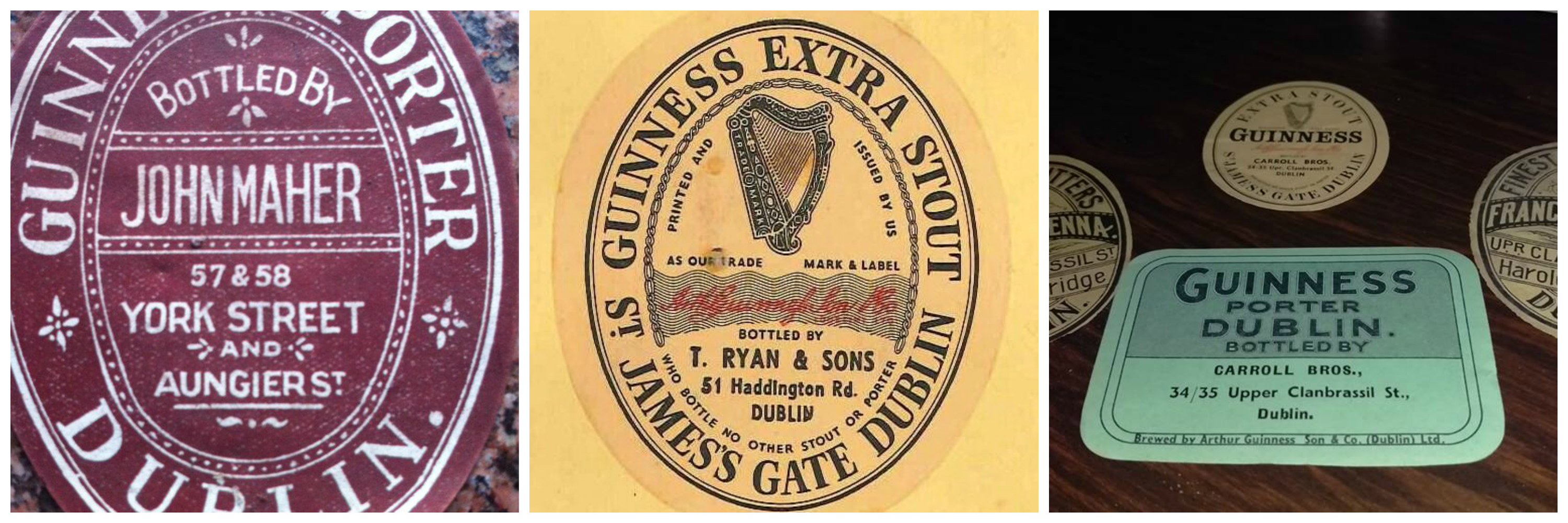 When pubs used to bottle their own Guinness. | Publin
