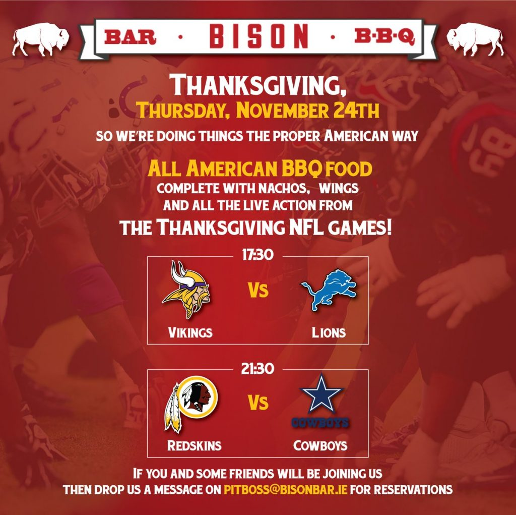 bisonthanksgiving