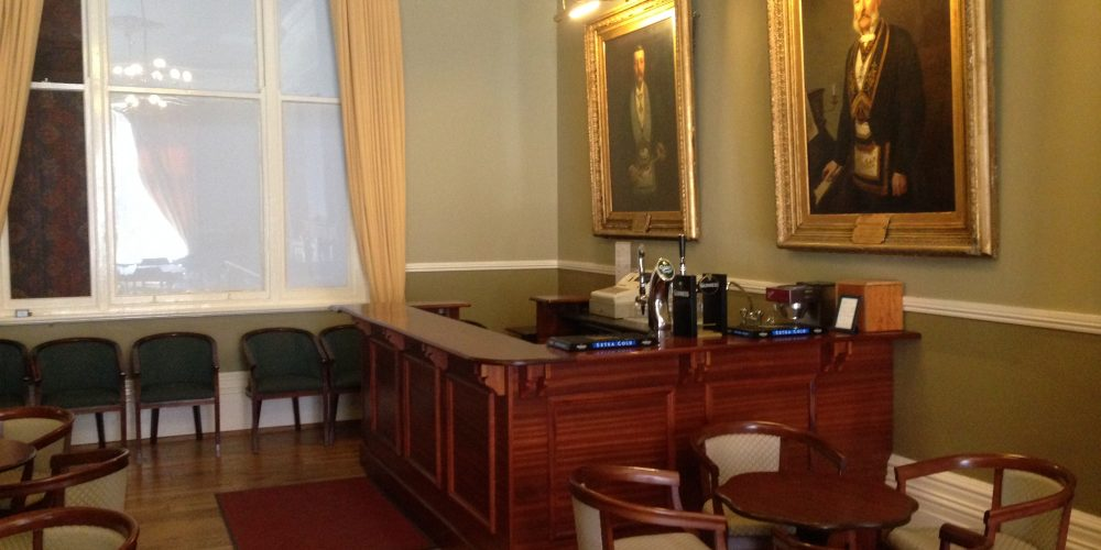 Did you know that you can book the Freemason's private bar and hall?
