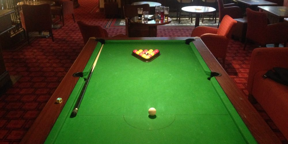Pubs with pool tables in Dublin.