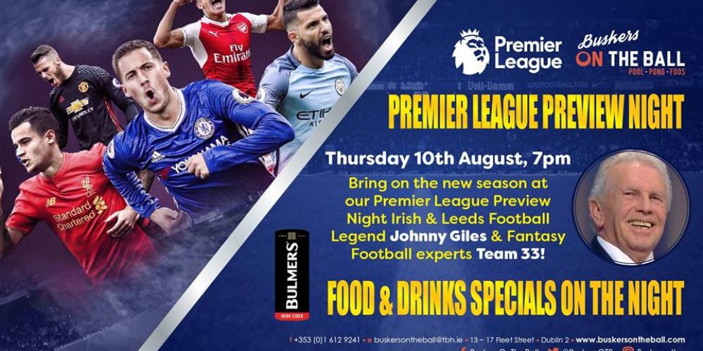 Preview the Premier League with Johnny Giles