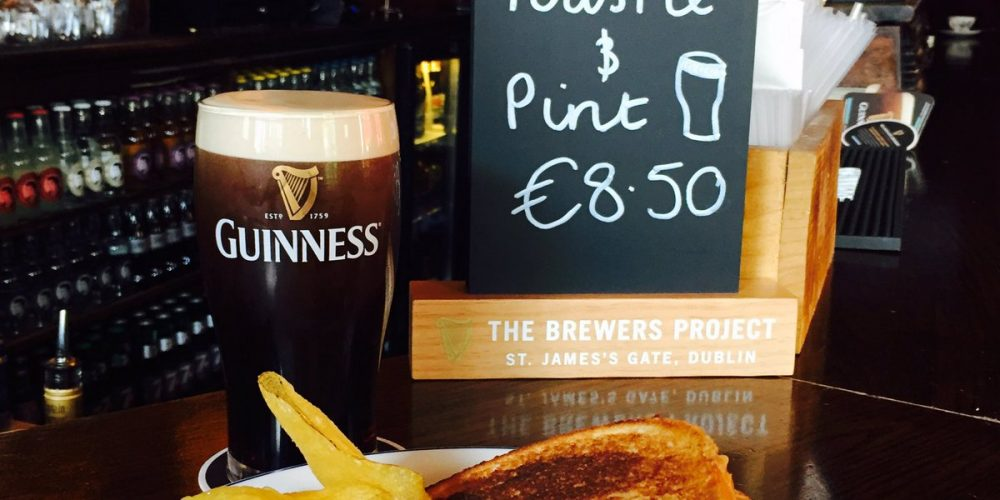 5 toastie and a pint deals in Dublin pubs