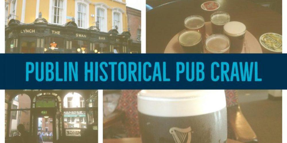 We're hosting a Publin Historical Pub Crawl. Thursday 7th September.