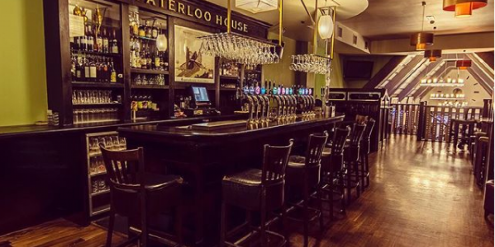 'The Waterloo House', the new bar in The Waterloo.