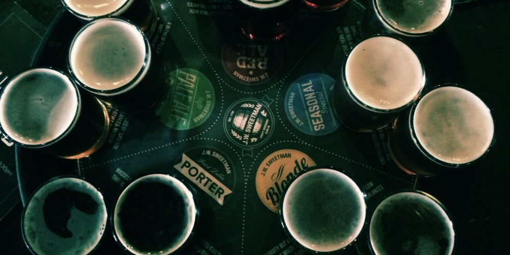 Why you should get a beer tasting tray in a Dublin pub next time you're out.