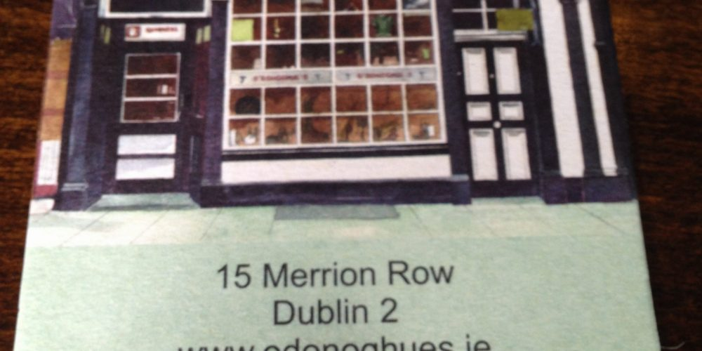 Here's a good idea from O'Donoghues: Pub Postcard beer mats