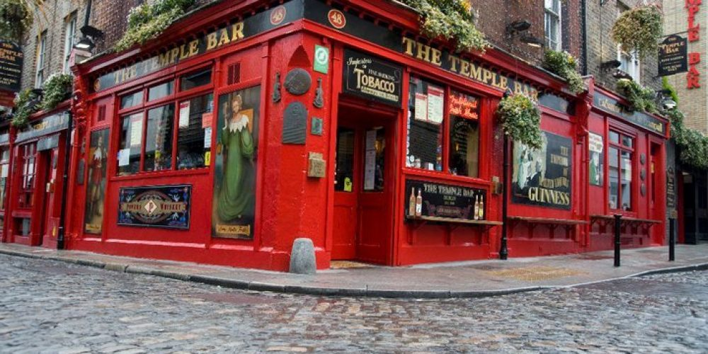 Temple Bar once tried to ban stag and hen parties in the 90's