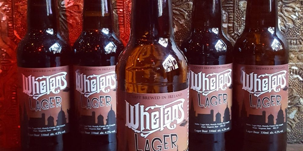 Whelan's now have their own beer