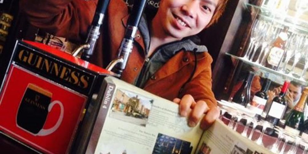 Japanese man Yuya Abe has visited every pub in Dublin, completing his nearly 3 year effort.