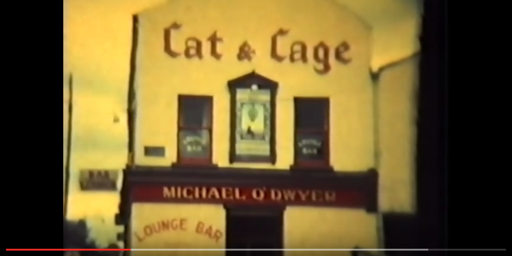 When Brendan Behan painted The Cat and Cage