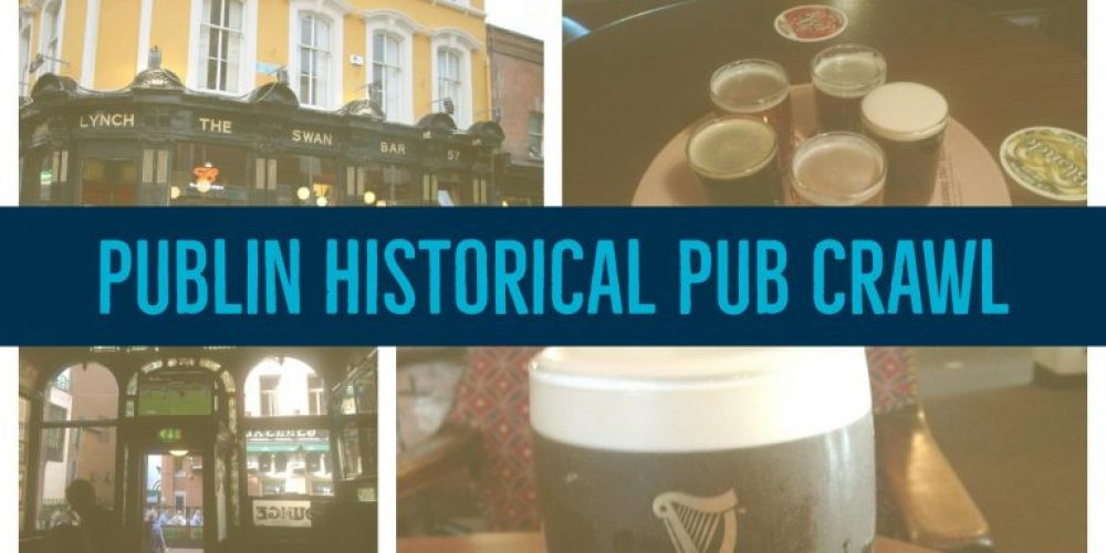 We're hosting a Publin Historical Pub Crawl. Thursday 7th September.