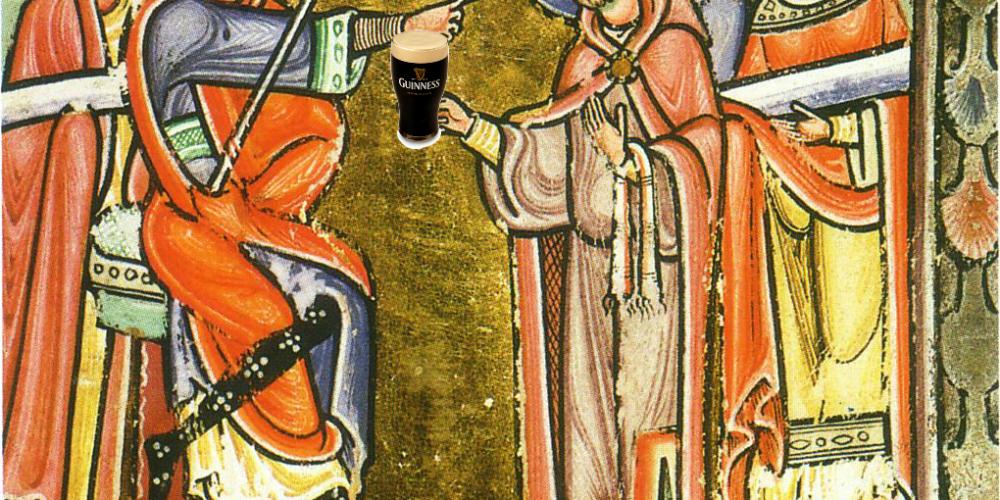 Saint Amond, Patron Saint of Bar staff.