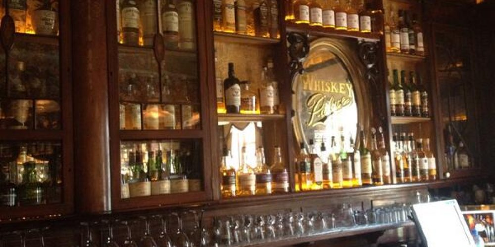 Have you checked out the whiskey bar upstairs in The Palace?