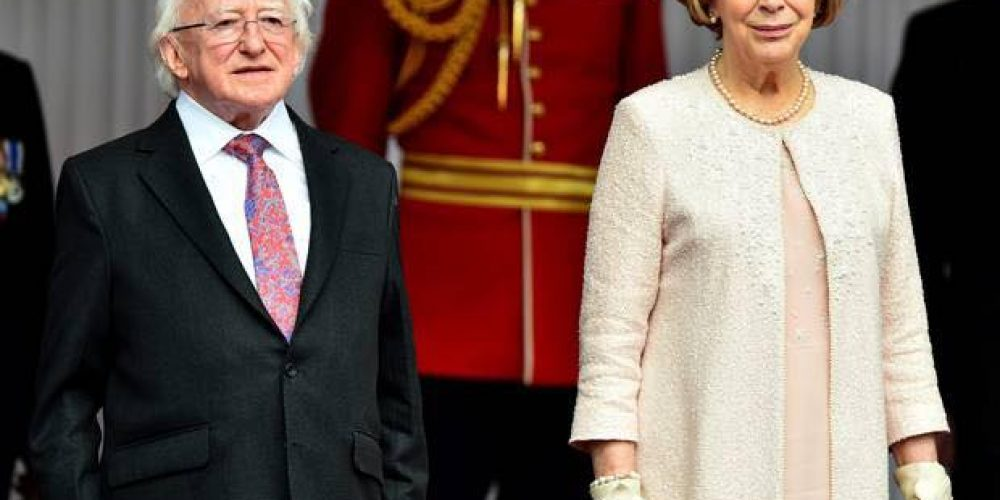 Sabina Higgins will be in The Patriots Inn tonight for a theatre evening.