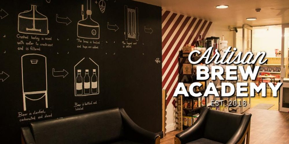 Have a boozy group day out learning to make craft beer and wine at the Artisan Brew Academy