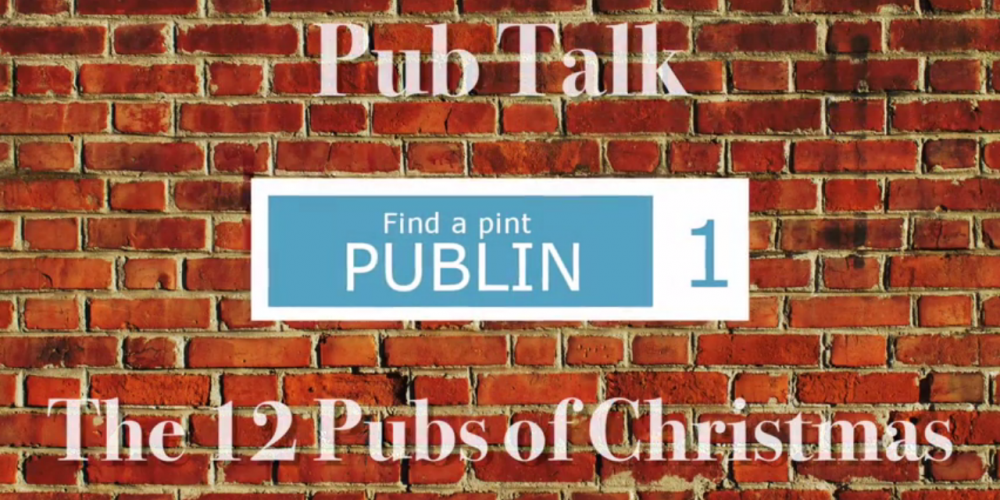 Video: Where did the 12 pubs of Christmas come from?