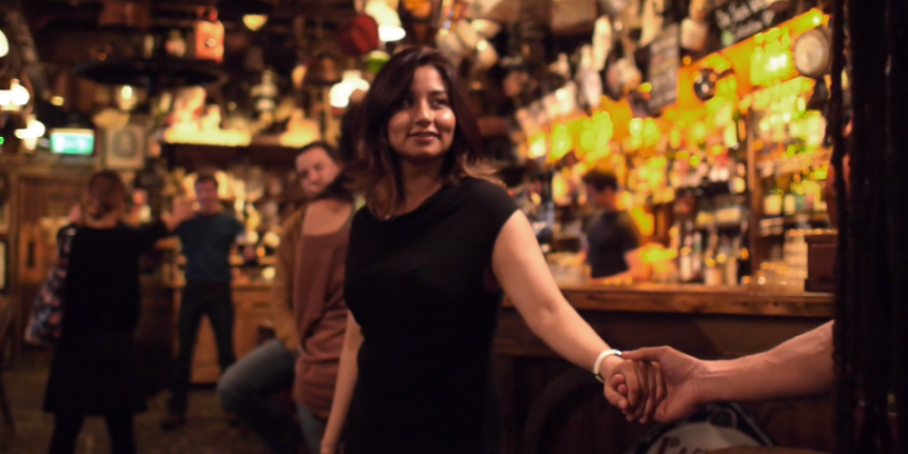 'Capturing the craic', an excellent short film set in a pub.