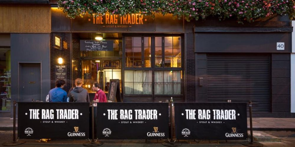 The Rag Trader won 'Best Whiskey Bar in Ireland'. Here's a look around.