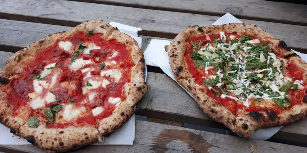 You should try out the pizza and beer garden in Luckys on Meath Street