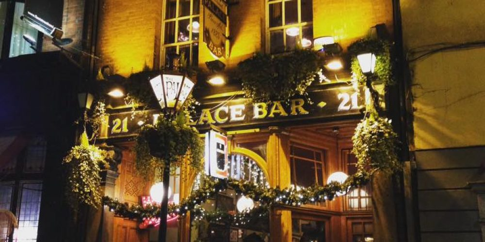 Poets and pints. Literary figures and the pubs they're connected to.