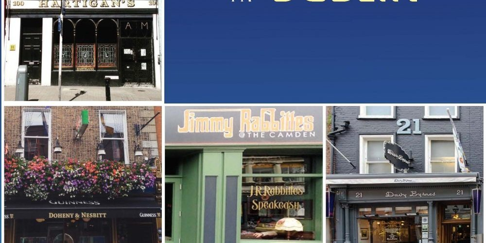 A Christmas present idea for the pub lover in your life. 'The Best Pubs in Dublin' book by Kevin Martin.