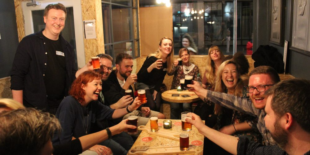 Entertaining work colleagues visiting Dublin? Take them on a pub crawl!