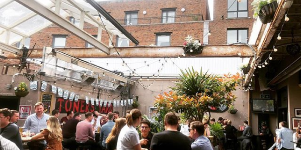 All the south side Beer Gardens and Sun Spots for Summer in Dublin.