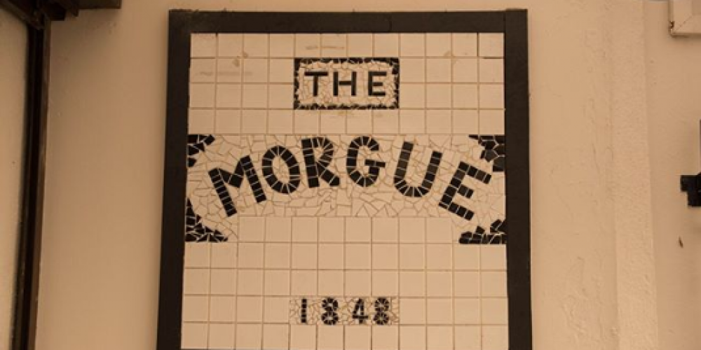 Here's where 'The Morgue Inn' gets its name.