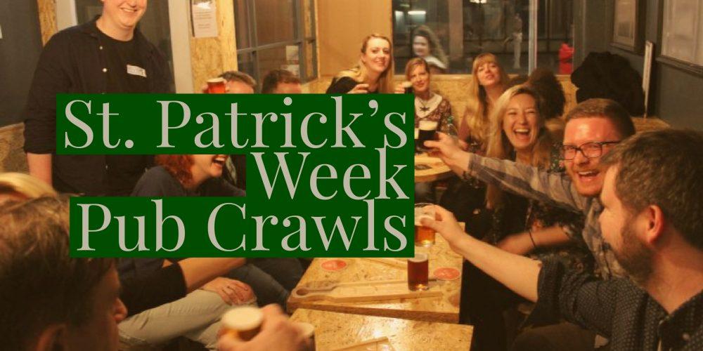 Join the Publin Saint Patrick's Week Pub Crawls!