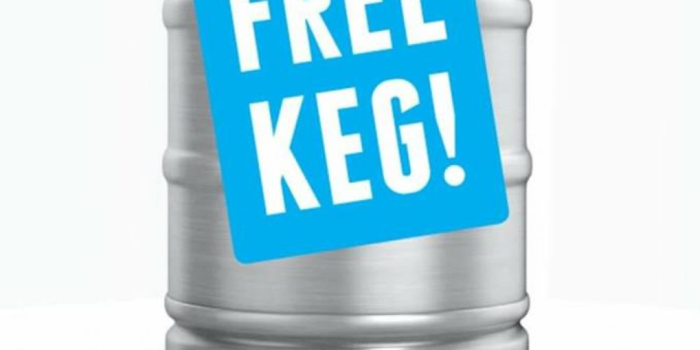 Against the Grain are giving away a free keg for party bookings.