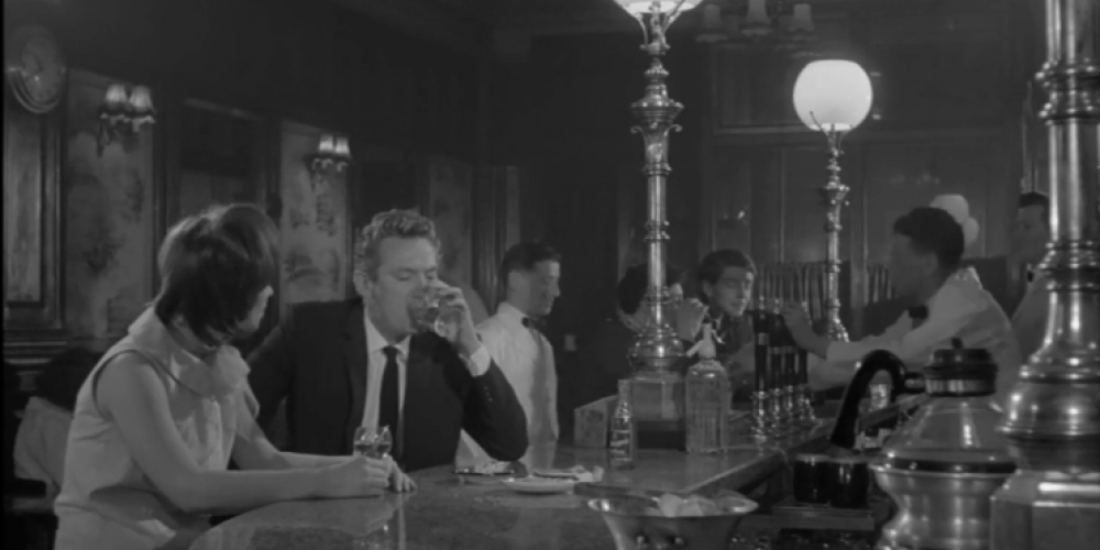 Nearys in 1964. Captured in the film 'Girl With Green Eyes'