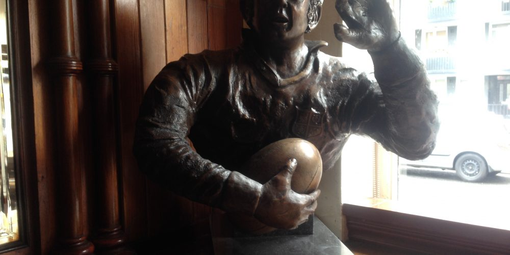 The publican who played rugby. Why The Swan bar is Dublin's rugby pub.