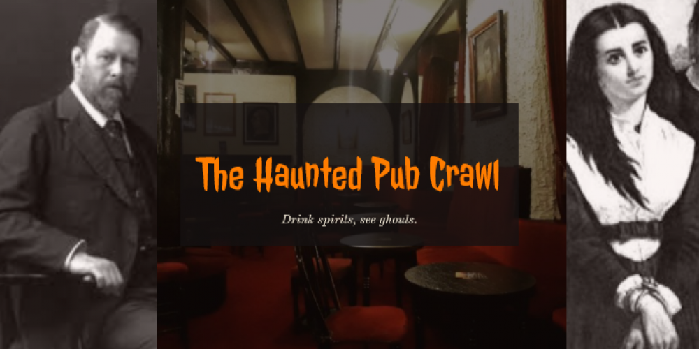 The Haunted Pub Crawl! Friday 25th October.