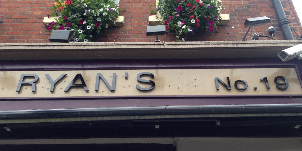 Robert Reade's is now called RYAN'S