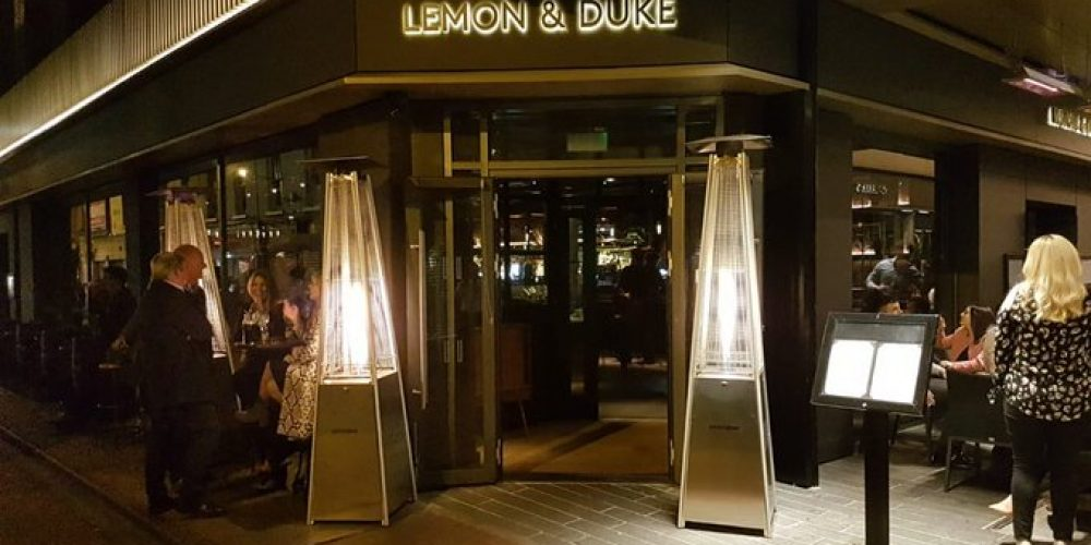 Drinks, food, and ambience. Work nights out in Lemon and Duke