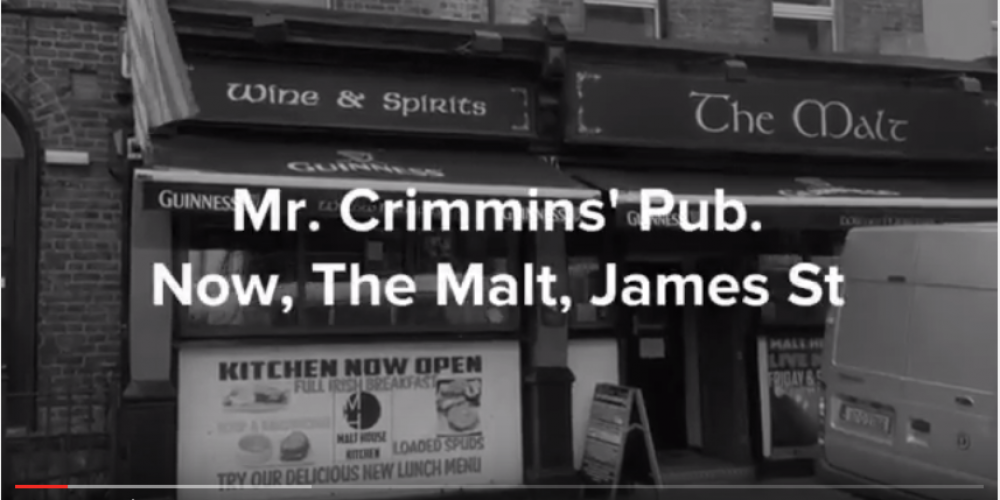VIDEO: The pubs of Ulysses: Crimmins' / The Malt