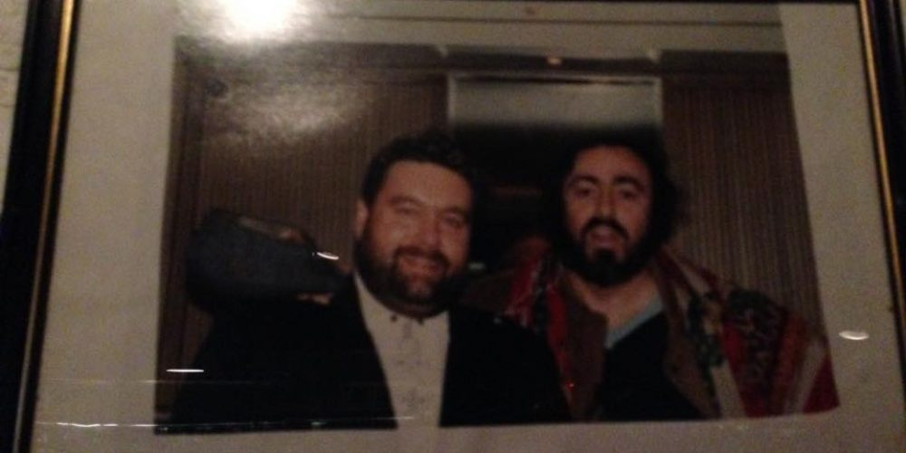 Sure there's Brendan Grace and Pavarotti in a pub.
