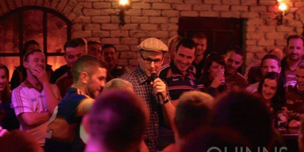 'Rory's Stories' will be doing a residency before big GAA games in Quinns.