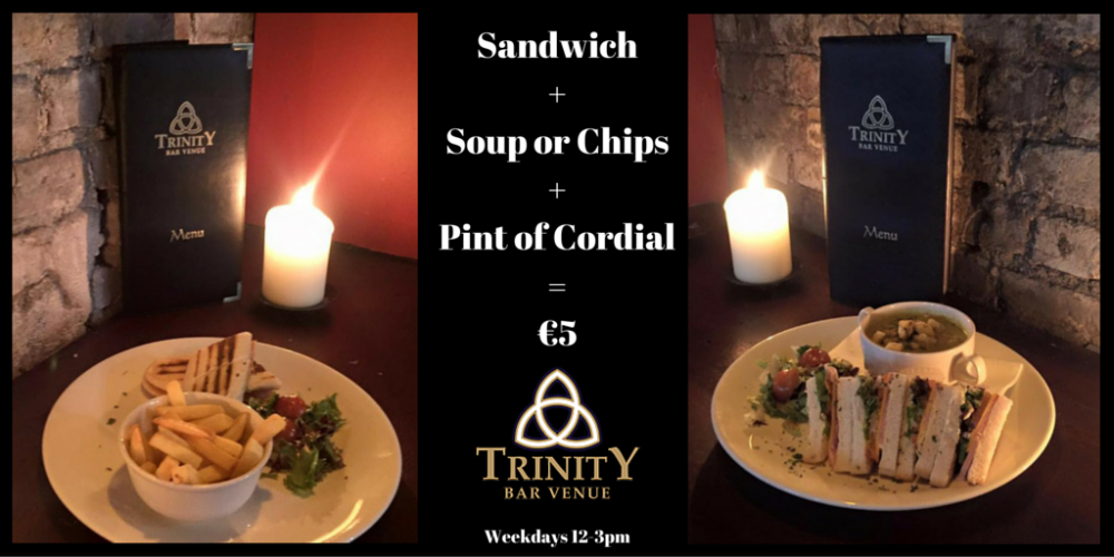 The €5 pub lunch. Is this the best value in the city?
