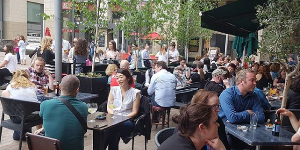 Sun Spots and Beer Gardens on Dublin's Northside
