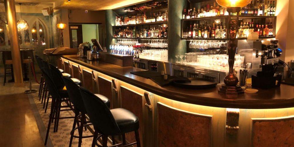 The new look Cellar bar in The Church.