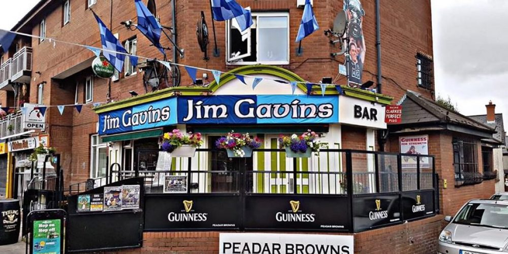 Pubs for GAA fans during and after the game in Dublin.