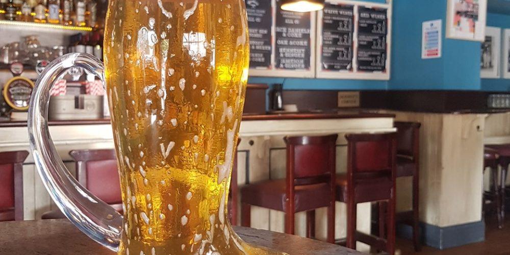 Barber Bar Bru Boot Beer has Best Booze Barter.