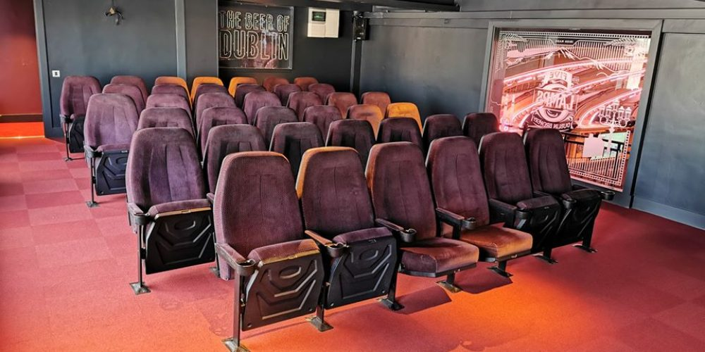 Match or movie? Book a private cinema for you and your pals.